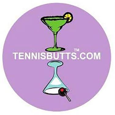 Tennis Butt Decal - Martini