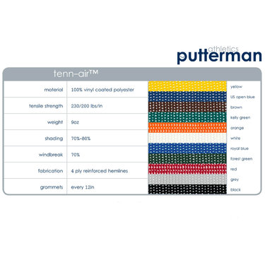 Putterman Tenn Air Windscreen (9 ft x 60 ft)