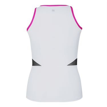 Tail Vibrant Hues Wrap Tank - White