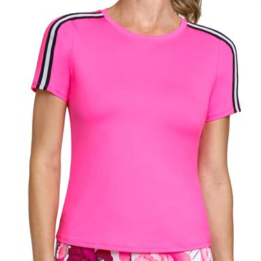 Tail Happy Hour Short Sleeve Top Womens Rose TF2642 1867
