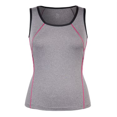 Tail Match Point Scoop Neck Tank - Frosted Heather
