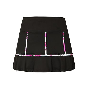 Tail Vibrant Hues Flounce Skirt - Black