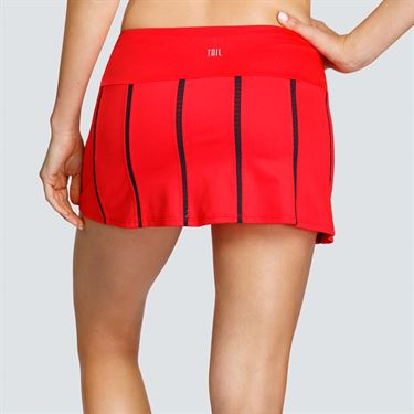 Tail Majestic Palms Mesh Panel Skirt - Chili