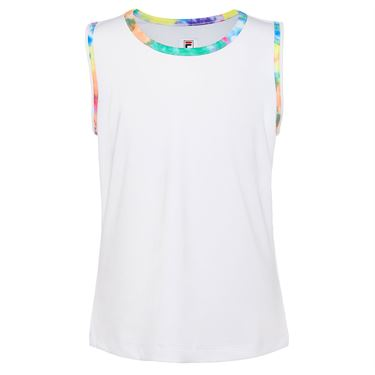 Fila Girls Full Back Tank White/Tie Dye TG018396 106