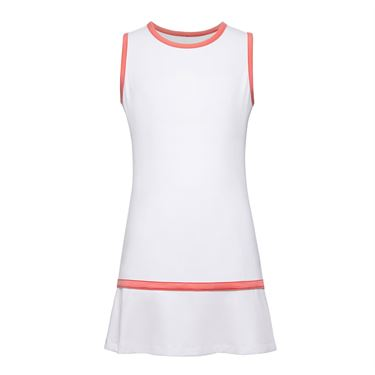 Fila Girls Dress White/Coral TG018413 101
