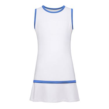Fila Girls Dress White/Amparo Blue TG018413 102