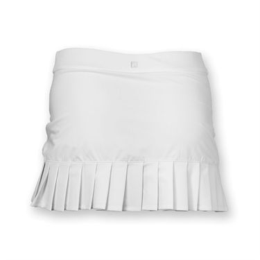 Fila Girls Pleated Back Skirt- White