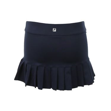Fila Girls Pleated Back Skirt- Peacoat
