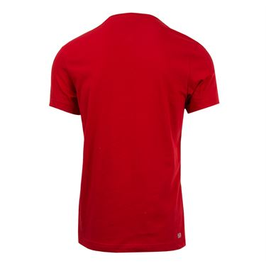 Lacoste Novak Tee - Red/White