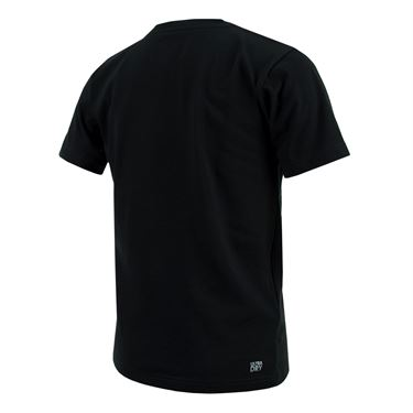 Lacoste Boys Djokovic Tech Tee - Black/White
