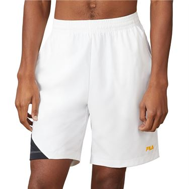 Fila Break Point Short Mens White/Black TM015349 100