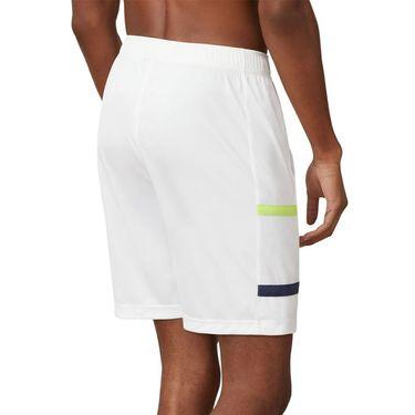 Fila PLR Short Mens White/Blueprint/Acid Lime TM016284 100