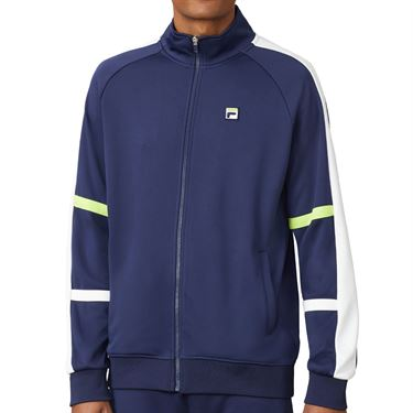 Fila PLR Jacket Mens Blueprint/White/Acid Lime TM016285 919