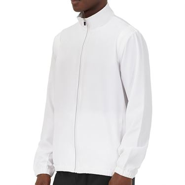 Fila Essentials Jacket Mens White TM016431 100