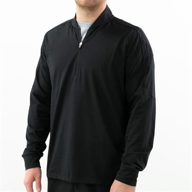 Fila Essentials 1/4 Zip Jacket Mens Black TM016474 001