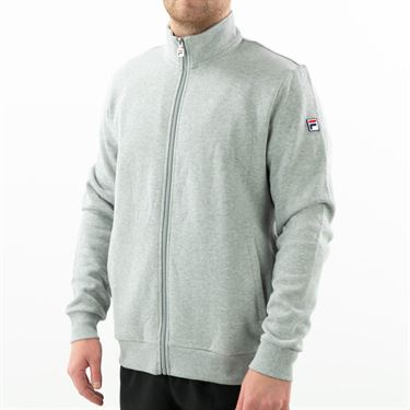 Fila Match Fleece Full Zip Jacket Mens Grey TM016942 073