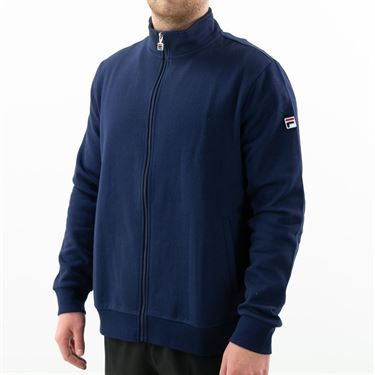 Fila Match Fleece Full Zip Jacket Mens Peacoat TM016942 412