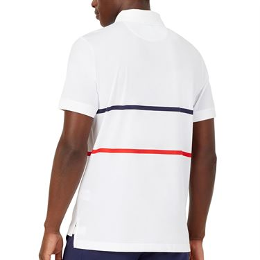Fila Heritage Tennis Stripe Polo Shirt
