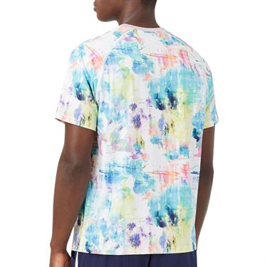 Fila Tie Breaker Printed Crew Shirt Mens Tie Dye/White TM118296 538