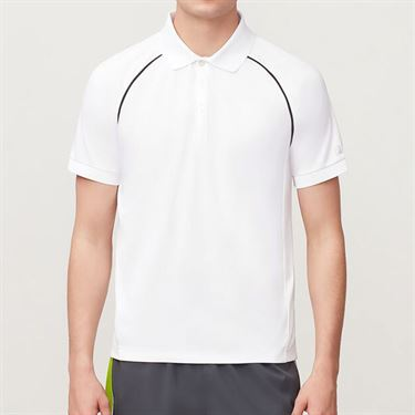 Fila Piped Polo, White/Ebony