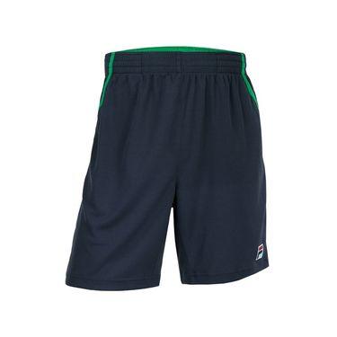 Fila Legends Short - Ebony/Bright Green/White