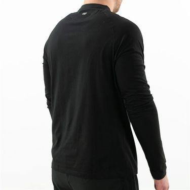 Fila UV Blocker Long Sleeve Top Mens Black TM183X28 001