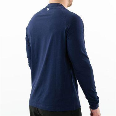 Fila UV Blocker Long Sleeve Top Mens Peacoat TM183X28 412