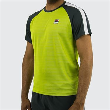 Fila Legend Crew - Lime Green/Ebony/White