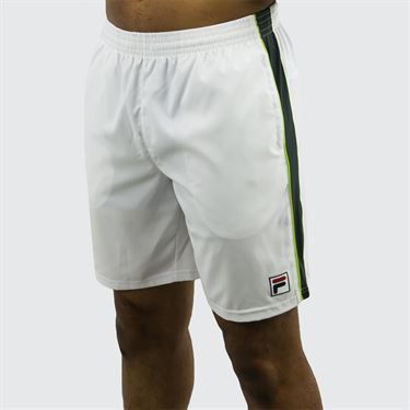Fila Legend Short - White/Ebony/Lime Green