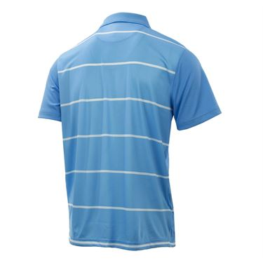 Fila Set Point Striped Polo - Little Boy Blue/White