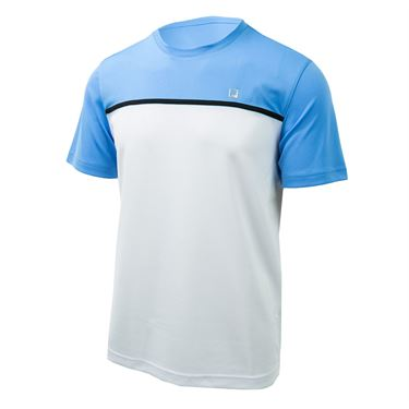 Fila Set Point Colorblocked Crew - White/Little Boy Blue