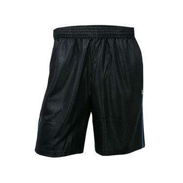 Fila Set Point 8 Inch Printed Short - Black/Little Boy Blue