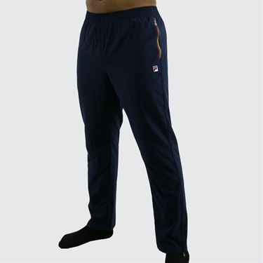 Fila Heritage Pant - Navy/Chinese Red/Buttercup