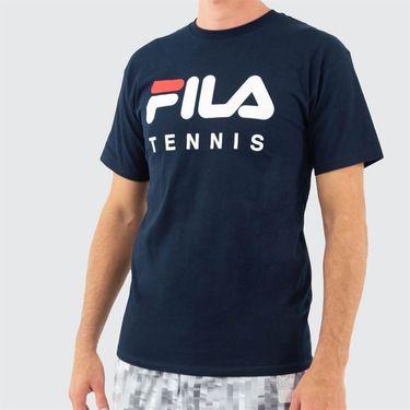 Fila Tennis Tee Mens Peacoat TM833813 410