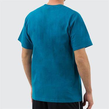 Fila Tennis Tee Shirt Mens Pacific/White TM833813 982