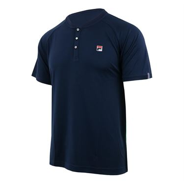 Fila Heritage Henley - Navy/Bright Green