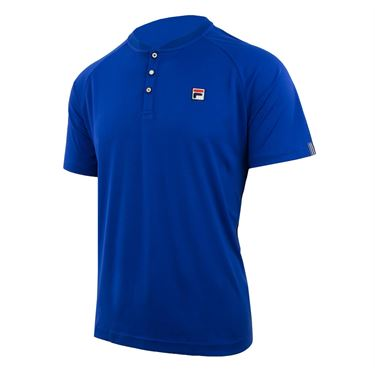 Fila Heritage Henley - Surf the Web/Navy