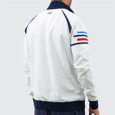 Fila PLR Jacket - White/Peacoat/Brilliant Blue/Chinese Red