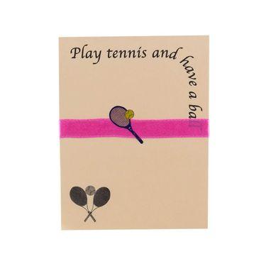 Clarke Lite Line Note Pad - Peach/Pink