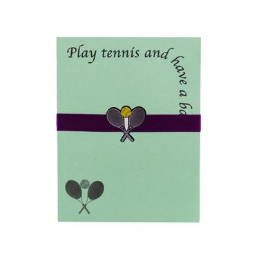 Clarke Lite Line Note Pad - Play Tennis