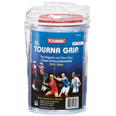 Tourna Tour XL Overgrip (50 Pack Reel)