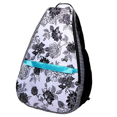 Glove It Black/White Rose Tennis Backpack