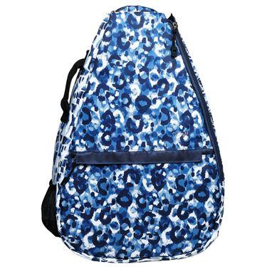 Glove It Tennis Backpack - Blue Leopard