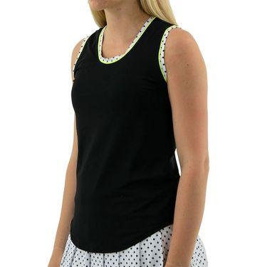 Jofit Limonata Volley Tank Womens White Polka Dot TT0020 WPD
