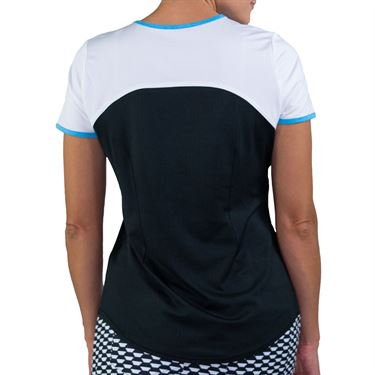 Jofit Key West Alley Tee Shirt Womens Black/White TT104 BNW