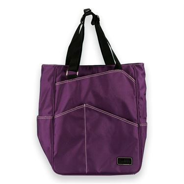 Maggie Mather Tennis Tote Bag Plum