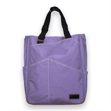 Maggie Mather Tennis Tote Bag Iris