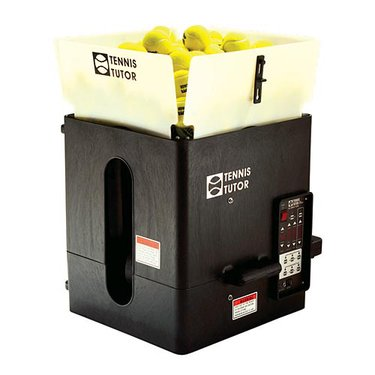 Tennis Tutor Plus Ball Machine - Player w/ Multi Remote