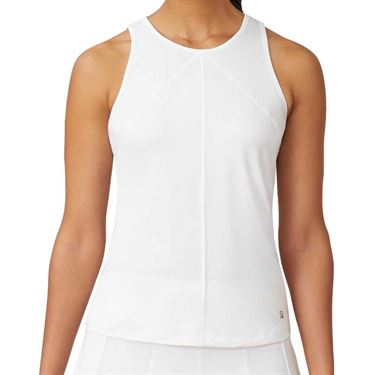 Fila White Line Call Full Coverage Tank Womens White TW015329 100