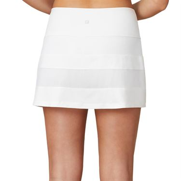 Fila White Line Call A Line Skirt Womens White TW015331 100